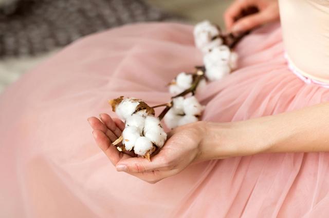 Ramos de algodão