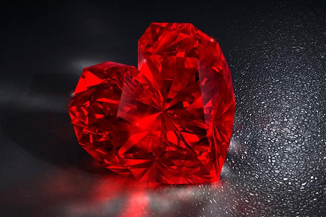 Coração de rubi