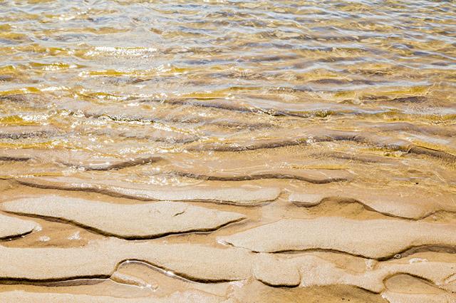 Lençóis Maranhenses com águas cristalinas
