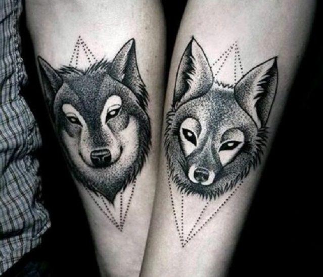 50 Tatuagens Para Casal Apaixonado Eu Casei